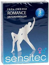 Сенситек гель-смазка романс увлажняющая 5мл 3 шт.