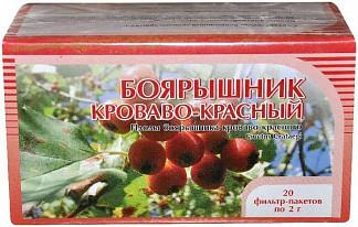 Боярышник цветки 20 шт. фильтр-пакет