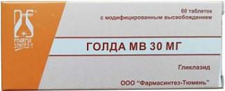 Голда мв 60мг 30 шт. таблетки с модифицированным высвобождением фармасинтез-тюмень ооо