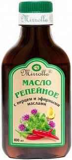 Мирролла масло репейное перец/эфирные масла 100мл