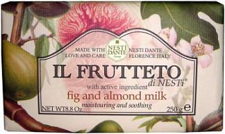 Нести данте мыло инжир/миндальное молочко 250г