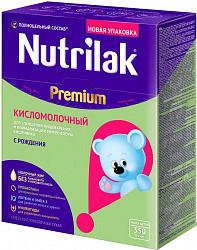Нутрилак премиум смесь кисломолочный 350г
