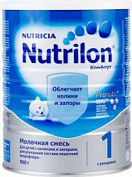 Нутриция нутрилон комфорт 1 смесь молочная 900г