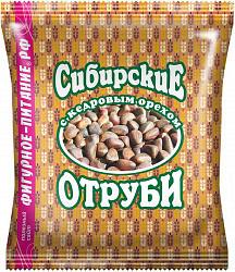 Отруби сибирские диетические с кедровыми орехами 200г