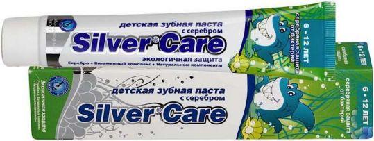 Сильвер кэа зубная паста для детей 6-12 лет 50мл, фото №1