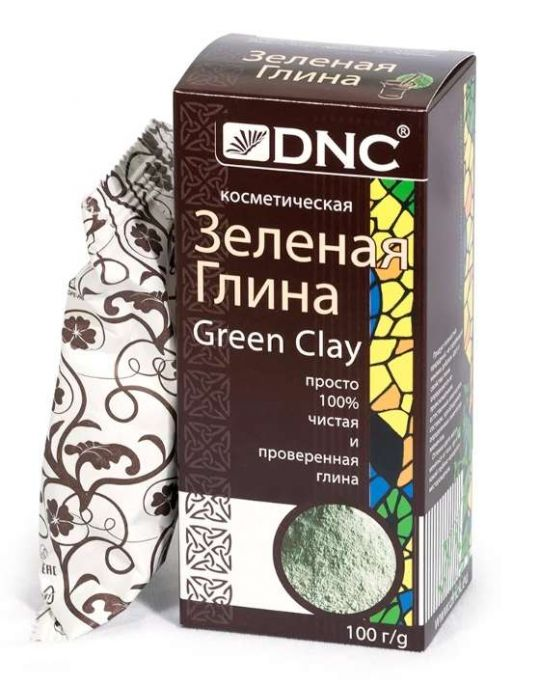 Днц глина зеленая 100г, фото №1