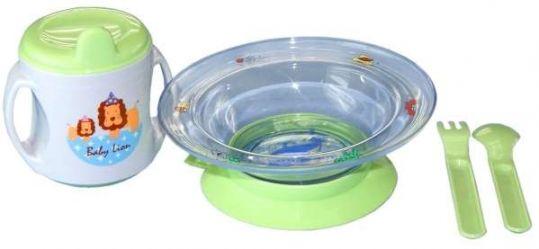 Сказка набор для кормления тарелка,ложка,кружка,вилка арт. 2820, фото №1