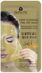 Скинлайт маска-пленка золотая обновление кожи 15г