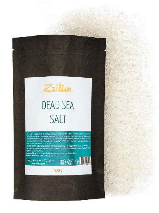 Соль мертвого моря натуральная 500г, фото №1