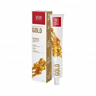Сплат спэшл зубная паста золото 75мл