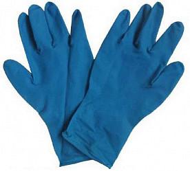 Дермагрип хай риск перчатки смотровые латексные нестерильные неопудренные сверхпрочные размер m пара