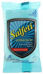 Салфети салфетки влажные антибактериальные 10 шт.