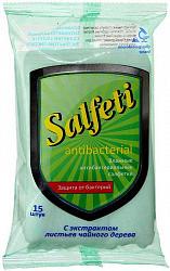 Салфети салфетки влажные антибактериальные 15 шт.
