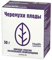 Черемухи плоды 50г здоровье