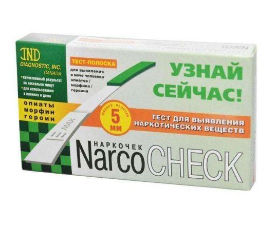 Тест narcochek для опред.опиаты/морфин/гер, фото №1