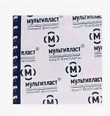 Мультипласт лейкопластырь бактерицидный 3,8х3,8см сильной фиксации 1 шт.