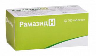 Рамазид н 5мг+25мг 100 шт. таблетки