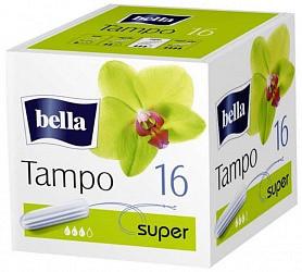 Белла тампоны супер премиум без аппликатора 16 шт.