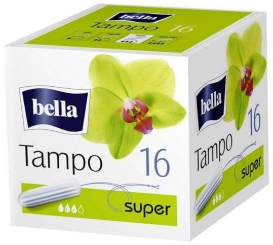 Белла тампоны супер премиум без аппликатора 16 шт., фото №1