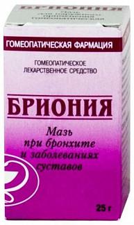 Бриония 25г мазь гомеопатическая