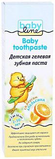 Бэбилайн зубная паста апельсин 2-10лет 75мл