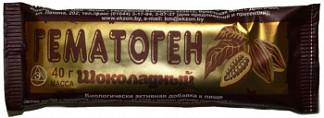 Гематоген шоколадный 40г