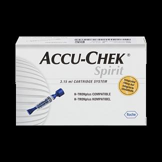 Акку-чек спирит картридж-система для инсулина 5 шт.