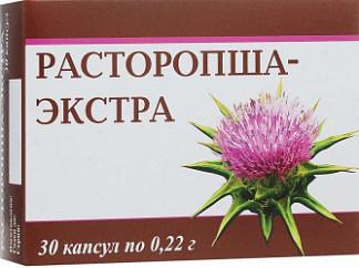 Расторопша экстракт капсулы 30 шт.