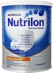 Нутриция нутрилон безлактозный смесь молочная 400г