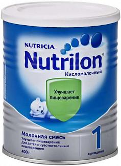 Нутриция нутрилон кисломолочный 1 смесь молочная 400г