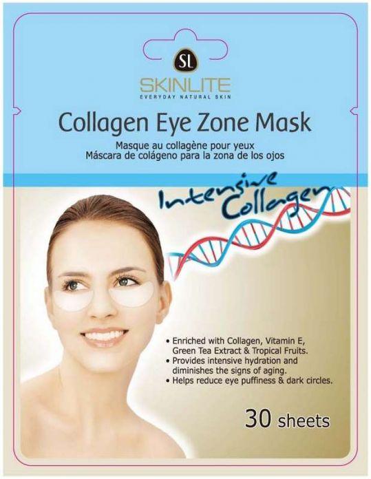 Скинлайт маска омолаживающая для глаз интенсивный коллаген 30 шт., фото №1