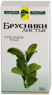 Брусника листья 50г здоровье