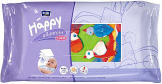 Белла беби хеппи салфетки влажные с витамином е и аллантоином 64 шт.
