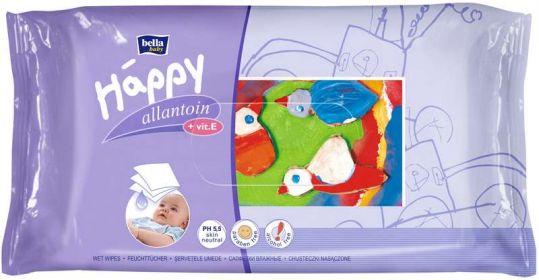 Белла беби хеппи салфетки влажные с витамином е и аллантоином 64 шт., фото №1