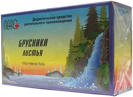 Брусника листья 1,5г 20 шт. фильтр-пакет, фото №1