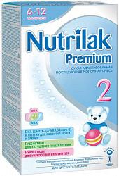 Нутрилак премиум 2 смесь молочная 6-12 месяцев 350г