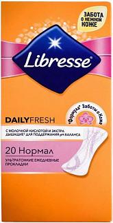 Либресс дейлифреш нормал прокладки ежедневные 20 шт.