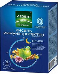 Леовит биотоника иммунэпротектин кисель общеукрепляющий 20г 5 шт.