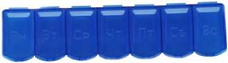 Таблетница-контейнер полимерная 7 дней