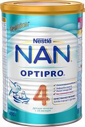Нестле нан оптипро 4 смесь молочная 400г