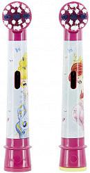 Орал-би стейджес пауэр насадки для электрической зубной щетки детские eb10k frozen 2 шт.