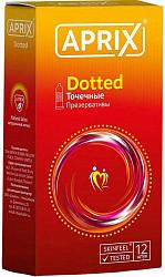 Априкс презервативы доттед 12 шт.