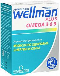 Велмен плюс 814мг 28 шт. + 676мг 28 шт. витабиотикс