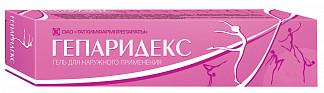 Гепаридекс 50г гель для наружного применения татхимфармпрепараты