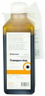 Повидон-йод 10% 500мл раствор для наружного применения