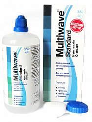 Мультивэйв стандарт раствор офтальмологический для ухода за контактными линзами с контейнером 350мл