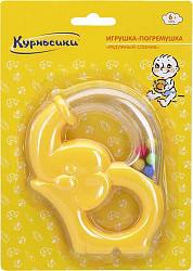 Курносики игрушка-погремушка радужный слоник арт.21373