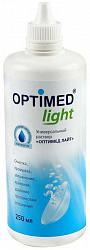 Оптимед лайт раствор для контактных линз 250мл