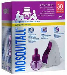 Москитол профессиональная защита электрофумигатор +жидкость 30ночей