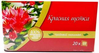 Красная щетка корневища и корни чайный напиток 1,5г 20 шт. фильтр-пакет